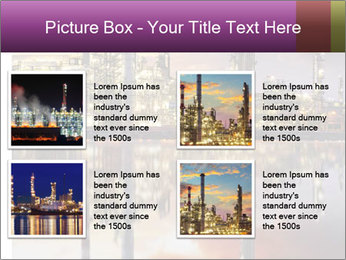 Factory At Night PowerPoint Template - Slide 14