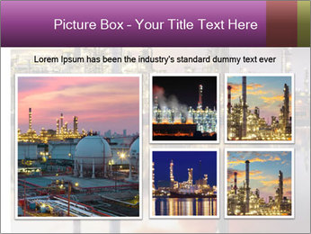 Factory At Night PowerPoint Template - Slide 19