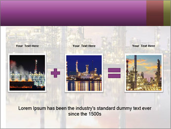 Factory At Night PowerPoint Template - Slide 22