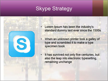 Factory At Night PowerPoint Template - Slide 8