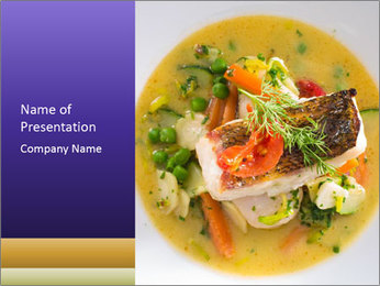 Nutritious Dish PowerPoint Template - Slide 1