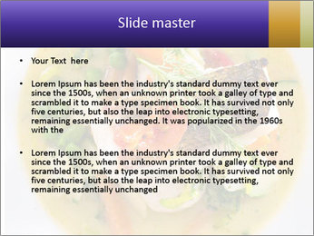 Nutritious Dish PowerPoint Template - Slide 2