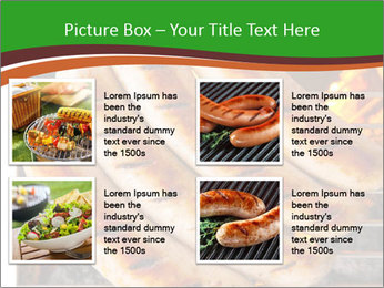 Grilled German Sausages PowerPoint Templates - Slide 14