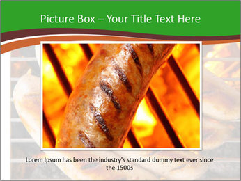 Grilled German Sausages PowerPoint Templates - Slide 15