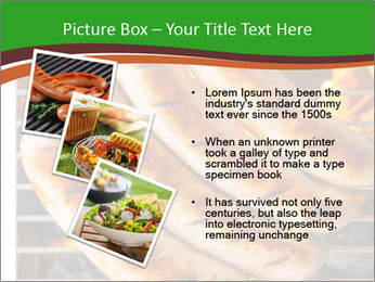 Grilled German Sausages PowerPoint Template - Slide 17