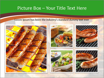 Grilled German Sausages PowerPoint Templates - Slide 19