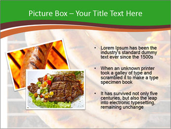 Grilled German Sausages PowerPoint Template - Slide 20