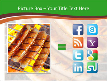 Grilled German Sausages PowerPoint Template - Slide 21