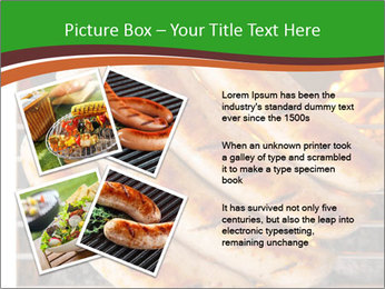 Grilled German Sausages PowerPoint Template - Slide 23