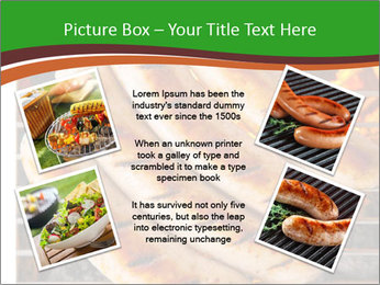 Grilled German Sausages PowerPoint Template - Slide 24