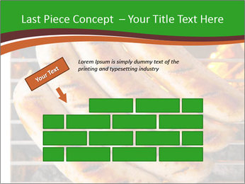 Grilled German Sausages PowerPoint Templates - Slide 46