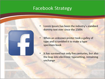 Grilled German Sausages PowerPoint Templates - Slide 6