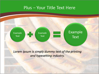 Grilled German Sausages PowerPoint Template - Slide 75