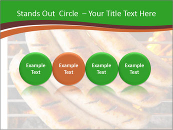 Grilled German Sausages PowerPoint Templates - Slide 76