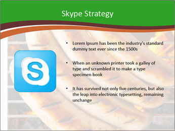 Grilled German Sausages PowerPoint Templates - Slide 8