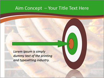 Grilled German Sausages PowerPoint Templates - Slide 83