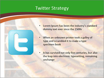 Grilled German Sausages PowerPoint Templates - Slide 9