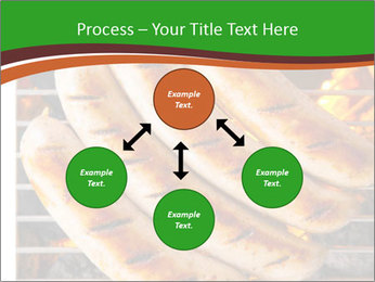 Grilled German Sausages PowerPoint Templates - Slide 91