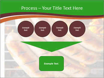 Grilled German Sausages PowerPoint Templates - Slide 93