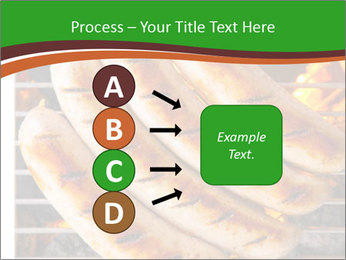 Grilled German Sausages PowerPoint Templates - Slide 94