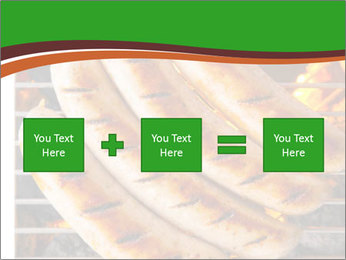 Grilled German Sausages PowerPoint Template - Slide 95