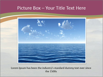Golden Sea PowerPoint Templates - Slide 16