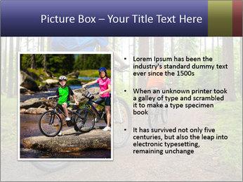 Biking In Forest PowerPoint Template - Slide 13