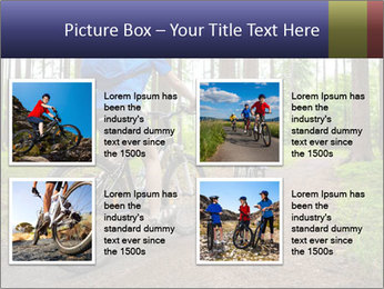 Biking In Forest PowerPoint Templates - Slide 14