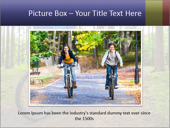 Biking In Forest PowerPoint Template - Slide 15