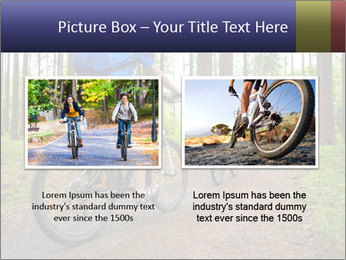 Biking In Forest PowerPoint Template - Slide 18