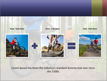 Biking In Forest PowerPoint Templates - Slide 22