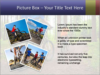 Biking In Forest PowerPoint Template - Slide 23