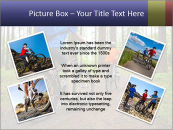 Biking In Forest PowerPoint Templates - Slide 24