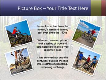 Biking In Forest PowerPoint Template - Slide 24