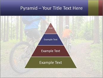 Biking In Forest PowerPoint Template - Slide 30