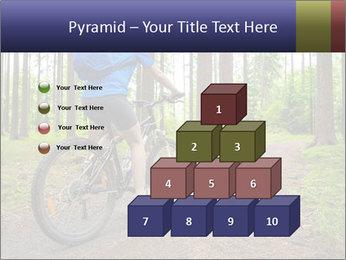 Biking In Forest PowerPoint Template - Slide 31