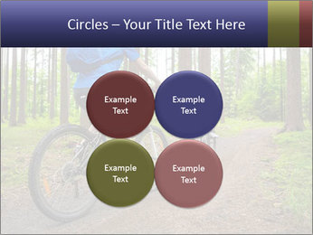 Biking In Forest PowerPoint Template - Slide 38