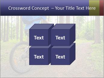 Biking In Forest PowerPoint Template - Slide 39