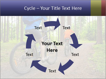 Biking In Forest PowerPoint Templates - Slide 62