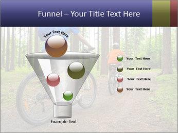 Biking In Forest PowerPoint Template - Slide 63