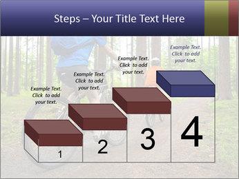 Biking In Forest PowerPoint Template - Slide 64