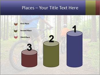 Biking In Forest PowerPoint Templates - Slide 65