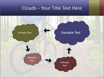 Biking In Forest PowerPoint Template - Slide 72