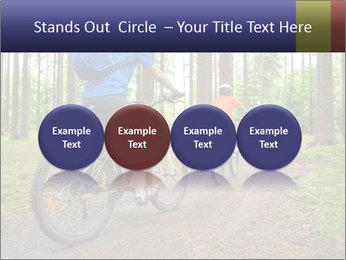 Biking In Forest PowerPoint Template - Slide 76