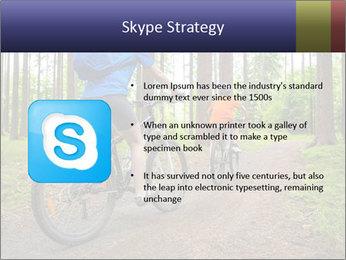 Biking In Forest PowerPoint Template - Slide 8
