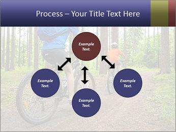 Biking In Forest PowerPoint Template - Slide 91