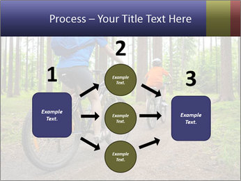 Biking In Forest PowerPoint Templates - Slide 92