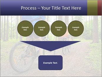 Biking In Forest PowerPoint Template - Slide 93