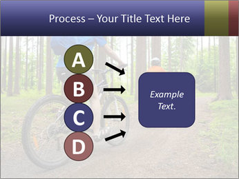 Biking In Forest PowerPoint Templates - Slide 94