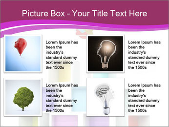 Colorful Light Bulb PowerPoint Templates - Slide 14